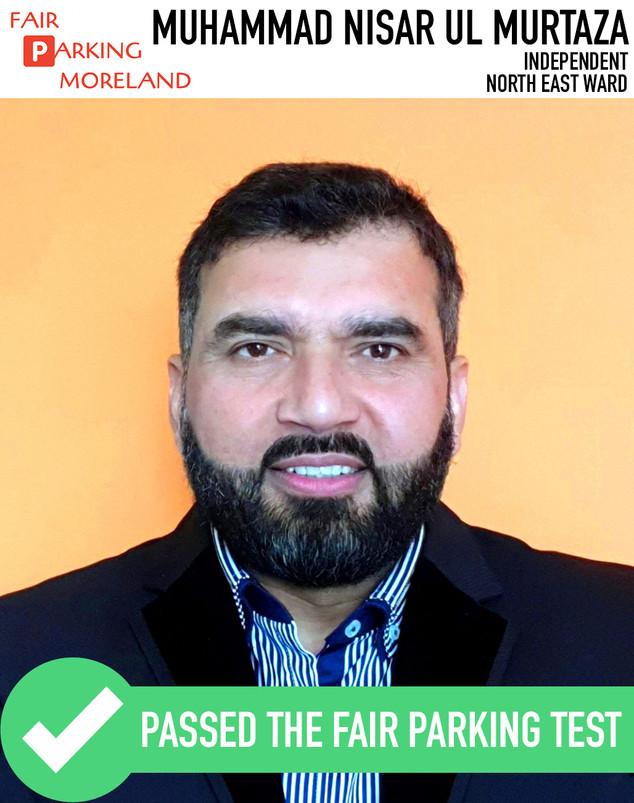 Muhammad Nisar UL MURTAZA - Independent.
