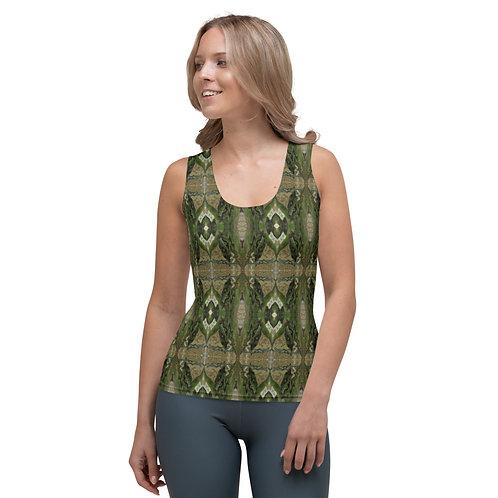 Summer/Winter earthy green t-shirt