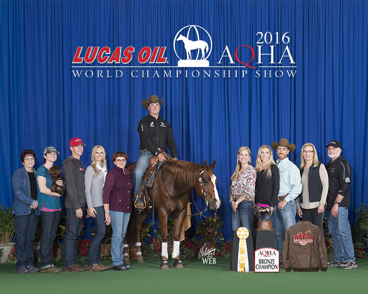 2016 Third Place Junior Reining