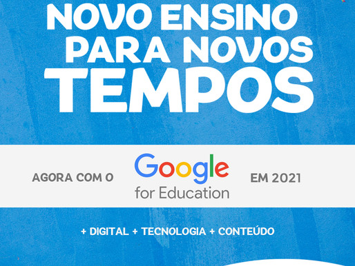 Colégio Ápice apresenta a nova ferramenta para 2021: Google for Education