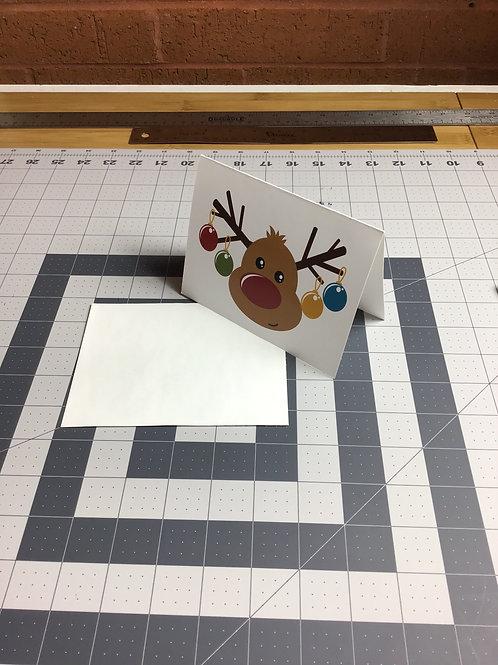 Reindeer Holiday Card