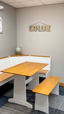 Open Seating Space