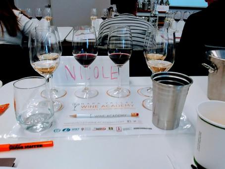 Passed the WSET 2 Award in Wine Exam!