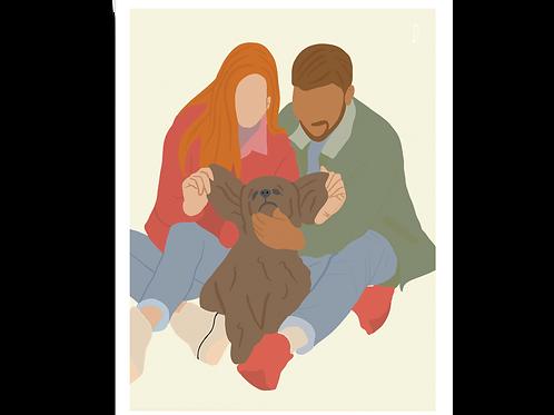 Dog Couple - 11SI