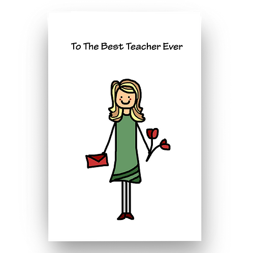 To The Best Teacher Ever (F)