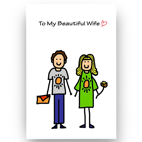 To My Beautiful Wife Valentine