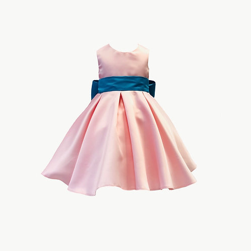 Isla Flower Girl Powder Pink or Ivory dress