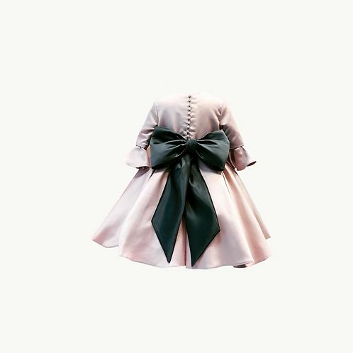 Isabella Flower Girl Regal Rose or Ivory dress