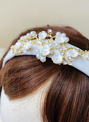 Cherry Blossom Head Band
