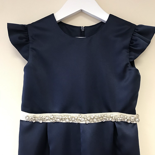 Grace Flower Girl Navy or Ivory Jumpsuit