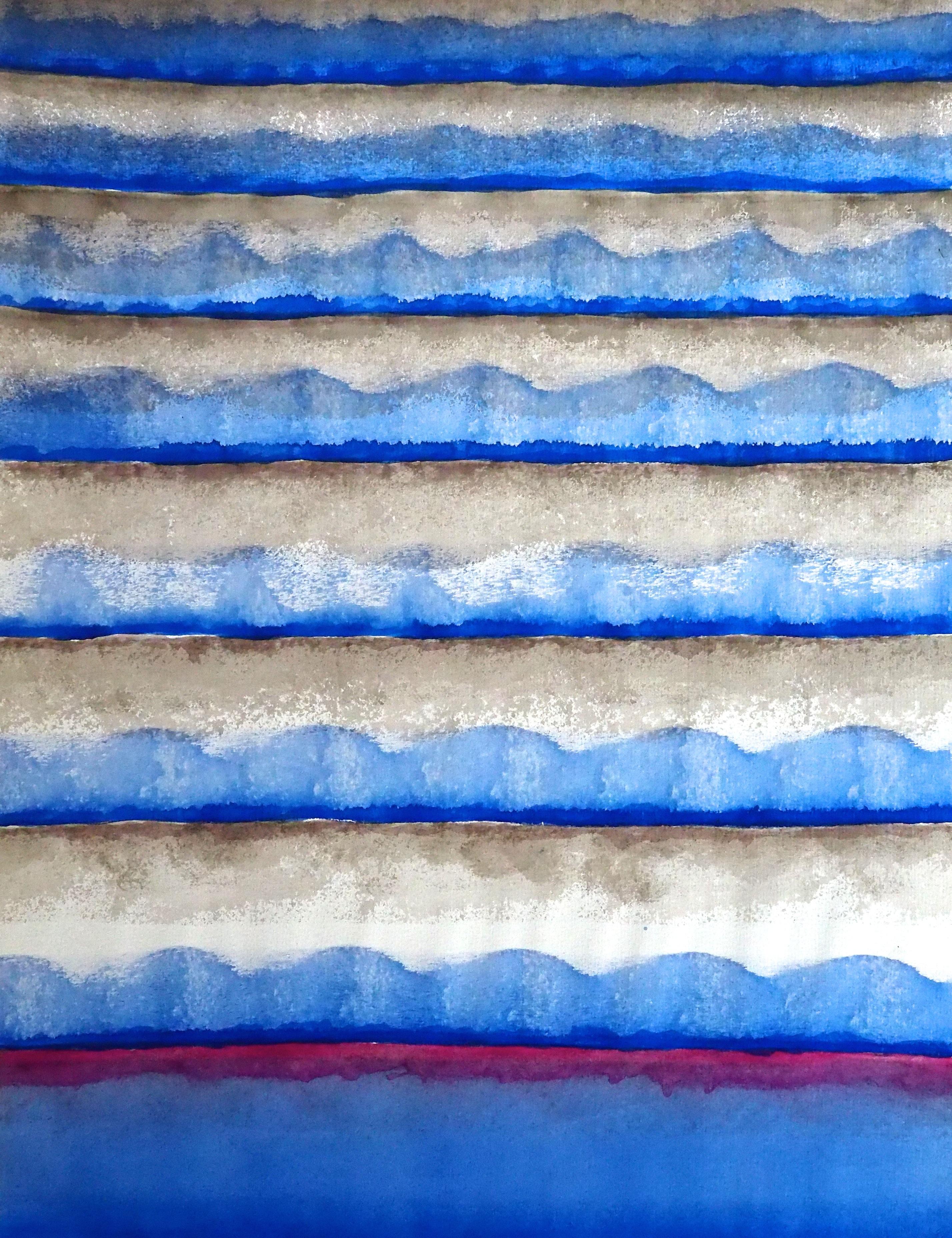 aquarelle 1976 - 57 x 77 cm