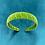 Thumbnail: Velvet Head Band Apple Green