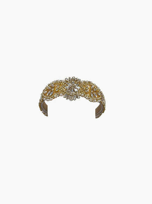 Gold Sparkle Head Band