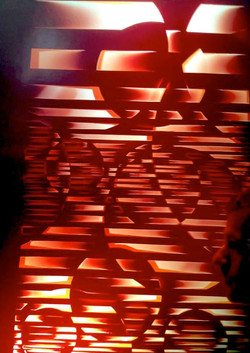 sculpture lumière 1972 paris