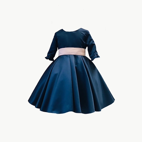 Jessica Flower Girl Navy or Ivory dress
