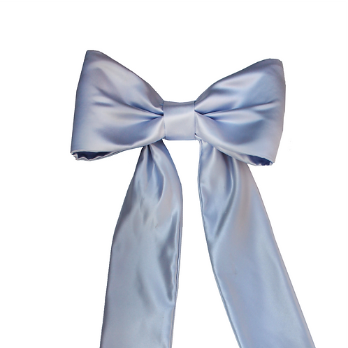 Large Tied Bow with Band