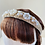 Thumbnail: Velvet Head Band  - Pearls & Sparkle set on gold