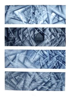 aquarelle 1980 - 57 x 77 cm