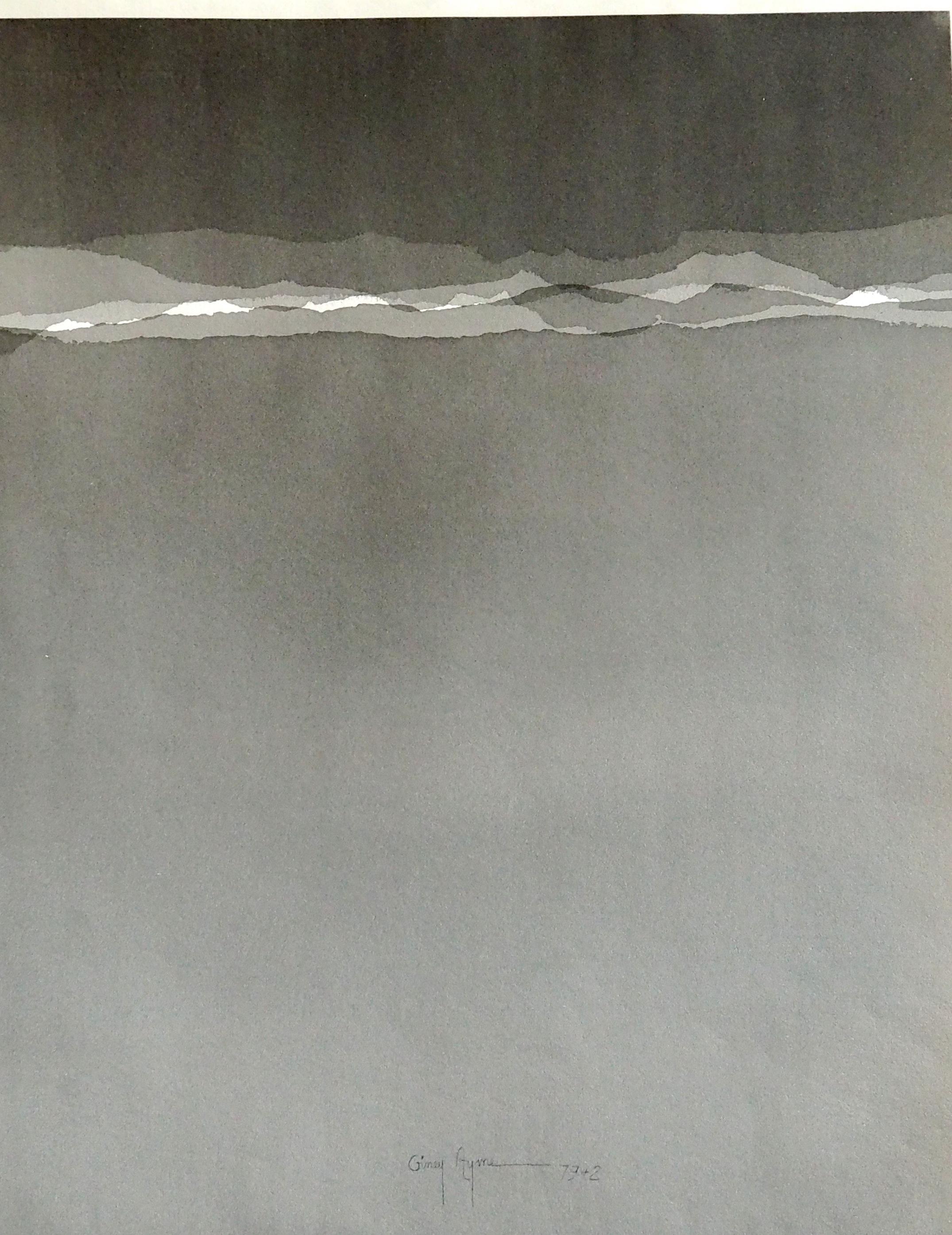aquarelle 1975 - 50 x 60 cm