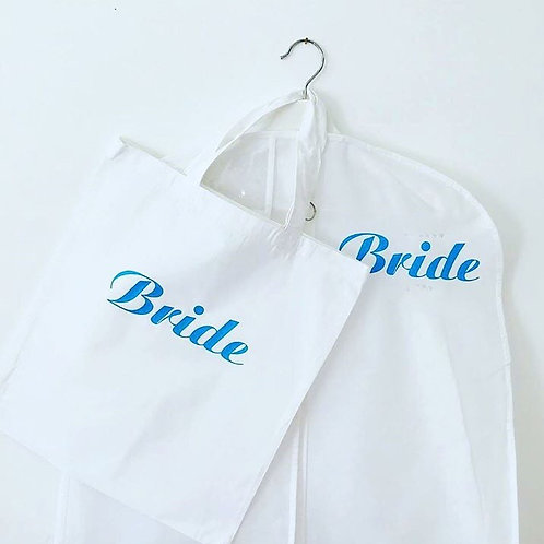 Garment bag & Hanger suitable for Wedding and Special Occasion Dresses