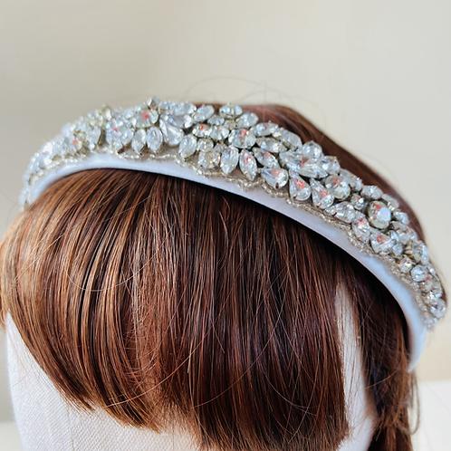 Silver Diamante Sparkle Head Band
