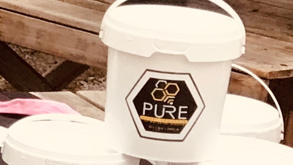 3kg Pail Raw Wildflower Honey
