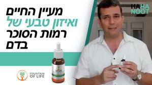 מעיין החיים ואיזון טבעי של רמות הסוכר בדם