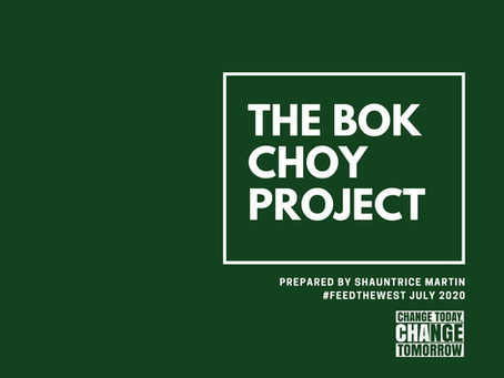 The Bok Choy Project by Shauntrice Martin
