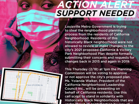 Community Complaint: Letter from California Neighborhood to Office of Planning & Design Services