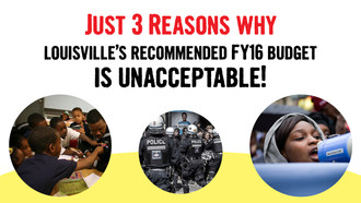 3 Reasons why Louisville's FY16 budget is UNACCEPTABLE!