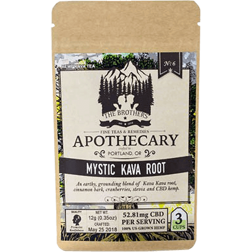 Mystic Kava Root Hemp CBD Tea