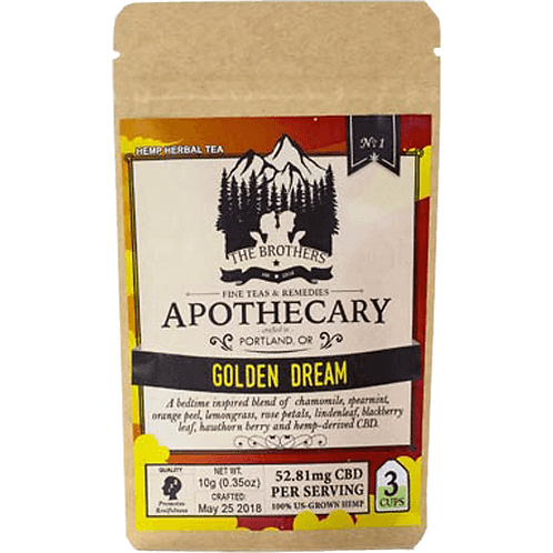 Golden Dream Hemp CBD Tea
