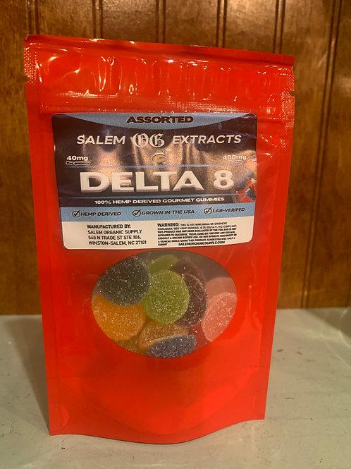 Delta 8 Gummies Assorted Flavors