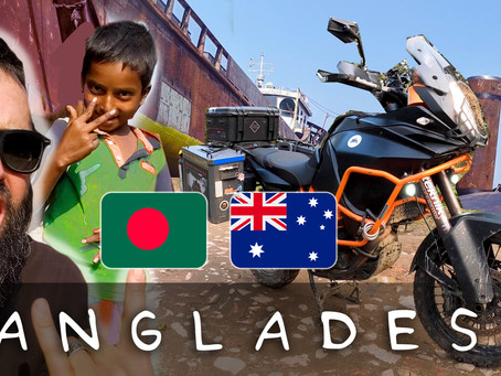 RIDING OUR MOTORCYCLE ACROSS BANGLADESH (DHAKA + SYLHET)