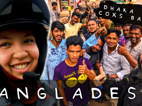 MOTORCYCLE ADVENTURERS IN BANGLADESH - A DAY IN THE LIFE