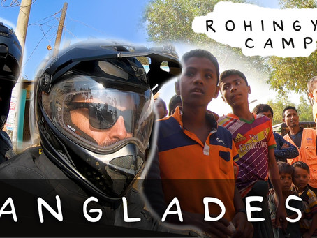 RIDING A MOTORCYCLE INTO THE LARGEST REFUGEE CAMP IN THE WORLD (DANGEROUS)