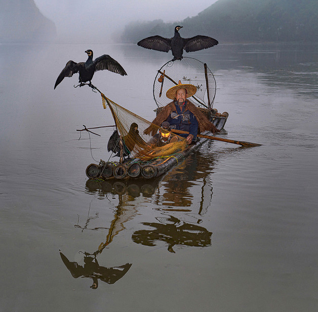 02 Black Beard Cormorant Fisherman - 23.