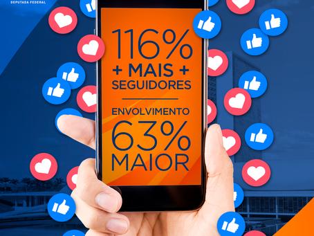 Em outubro de 2018, a jornalista Rosana Valle tinha 88.821 seguidores no Facebook.