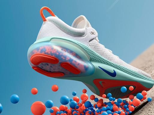 Bubblekill e Nike para o lançamento do tênis Joy Ride Nike