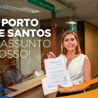 Atuação junto ao Porto de Santos