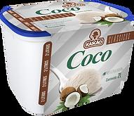 Sorvete Potes Kascão Coco