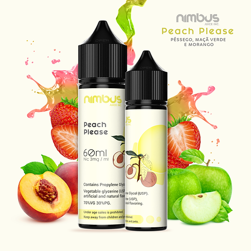 Peach Please - 60ml