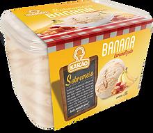 Sorvete Potes Kascão Banana