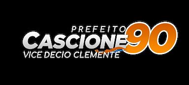 Logo Candidato Vicente Cascione 90 - Prefeitura Santos