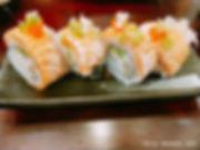 炙燒鮭魚干貝花卷.JPG