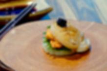 城前料理亭 - 干貝馬卡龍.jpg
