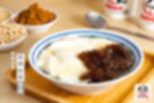 大丸豆花仙草冰品店 黑糖粉粿豆花.jpg