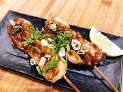 浪兄浪弟海鮮燒烤bar - 蔥燒雞肉串.JPG