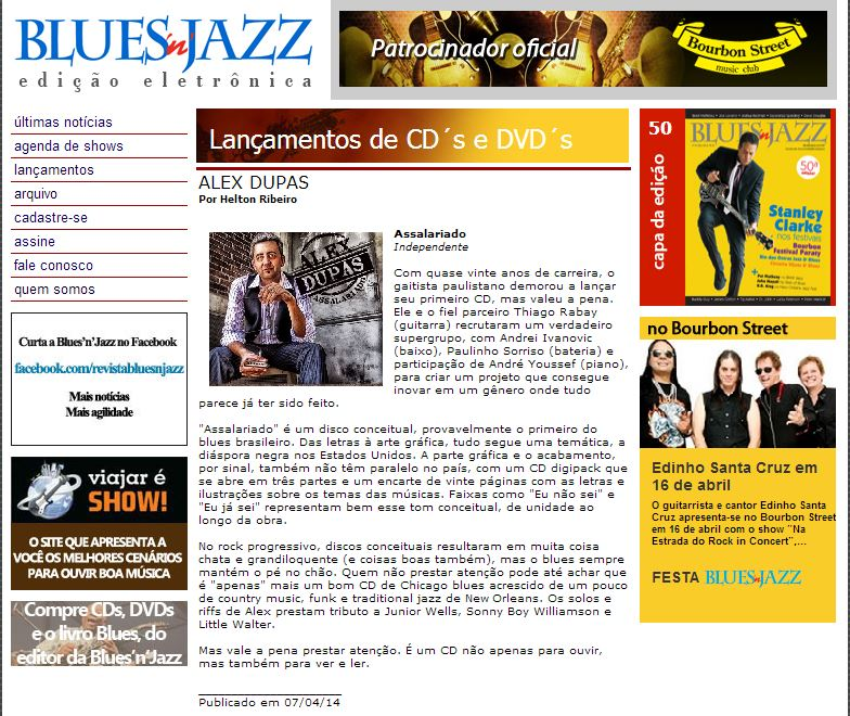Blues'n'Jazz 07-04-2014