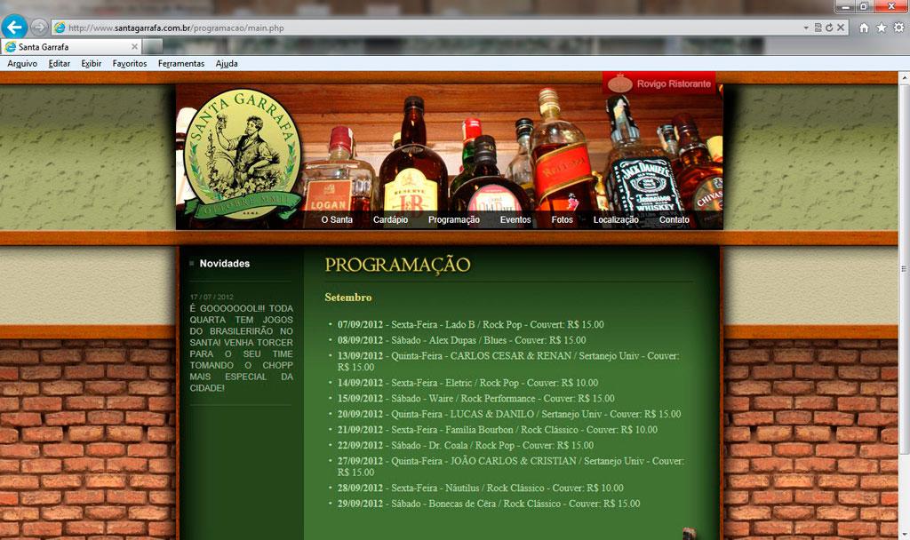 Santa Garrafa 08-09-2012